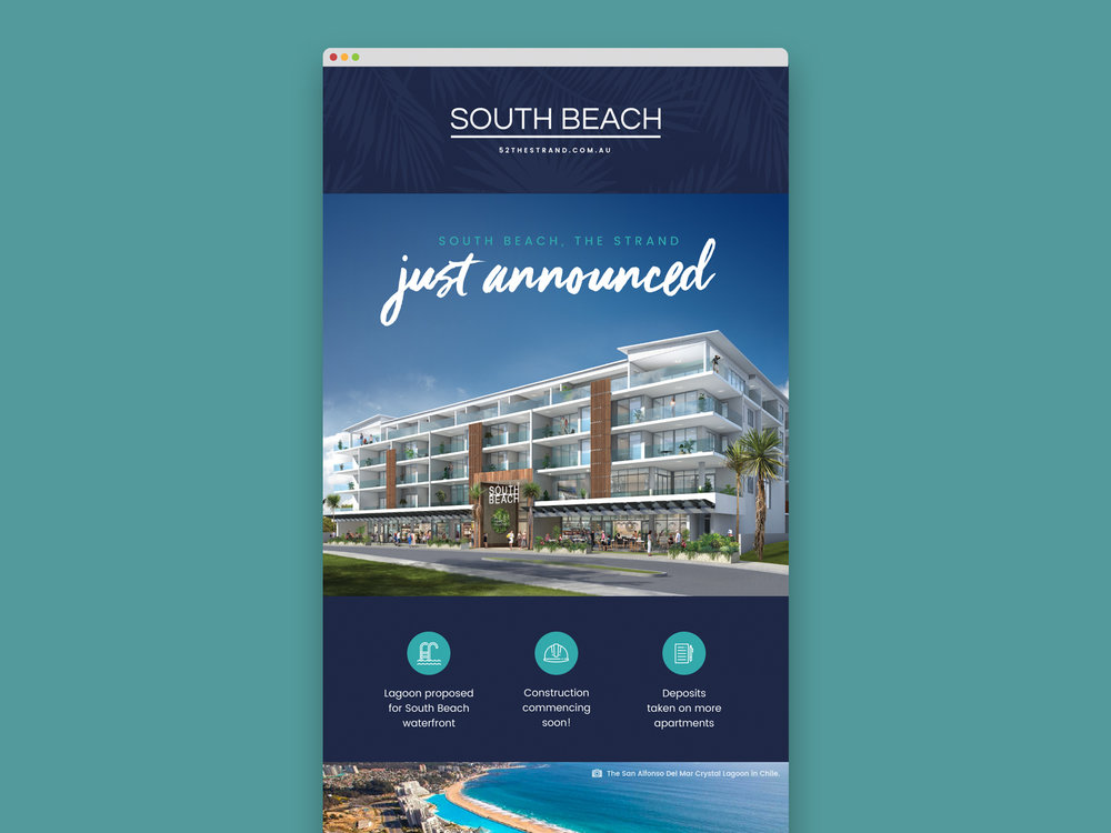 Email marketing for South Beach, Townsville