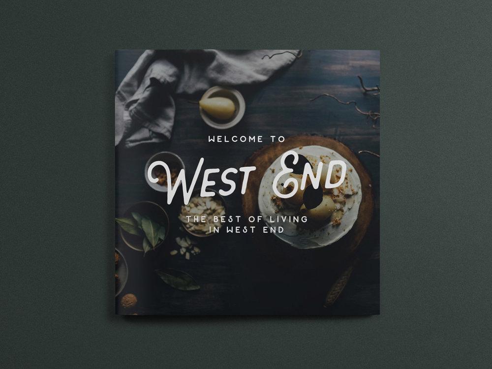 Design for lifestyle magazine, West End / Brisbane