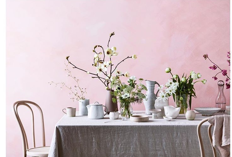 COUNTRY STYLE MAGAZINE - The September issue of Country Style magazine featured this stunning Spring shoot which included one of my blush pink pinch pots and pedestal dishes. Click here to see the other beautiful shots.