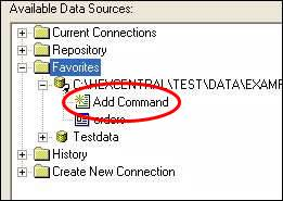 Crystal Reports Command
