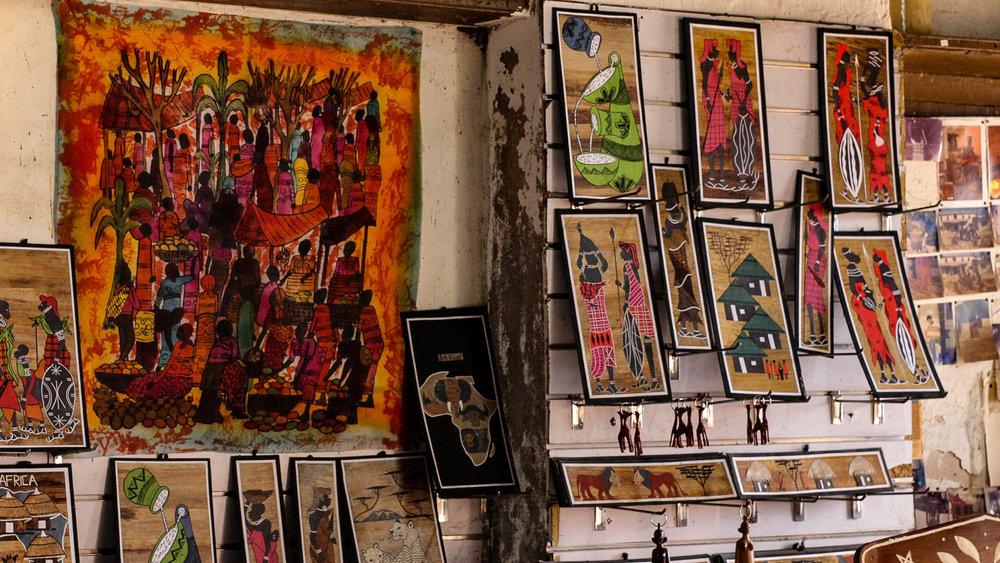 As seen in Old Town - an art store.  | Comme vu en Old Town - Un magasin d'Art