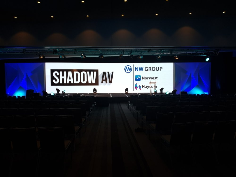 Shadow Audio Visual LED wall