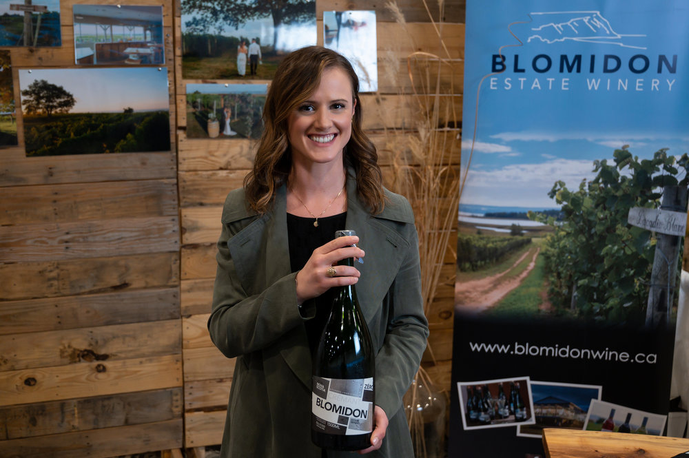 So many amazing options for a wedding venue in Nova Scotia including  Blomidon Estate Winery .
