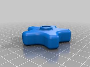 EQ5 / EQ6 Counterweight Thumbscrew