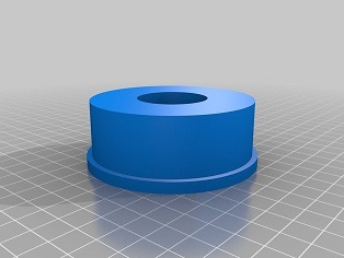 3 inch to 1.25 inch Diagonal adapter
