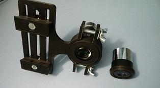 Universal telescope eyepiece smartphone mount V2