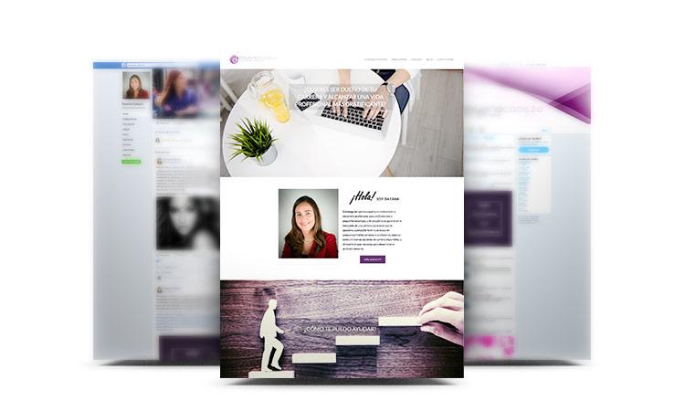 Montaje de su Web y redes sociales