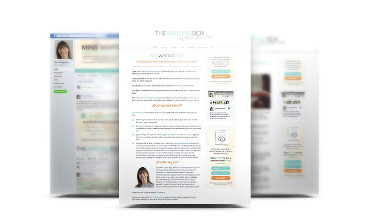 Montaje Web, blog y red social.