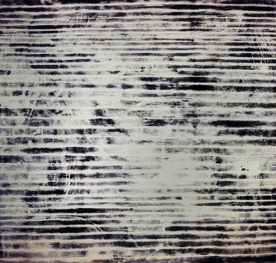 """Copy of Trogan Horse, 112 3/4"""" x 111 3/4, 1992"""