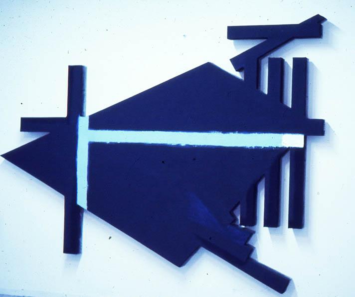 """Chowchila Greenie 108"""" x 168"""", 1975-6"""