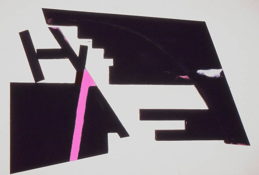 "Untitled, 118"" x 135"", 1975-6"