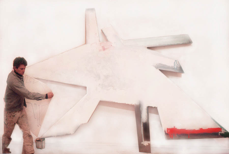 """Not Condor Air (for Secreto de La Pampa), 108"""" x 168"""", 1976-7"""