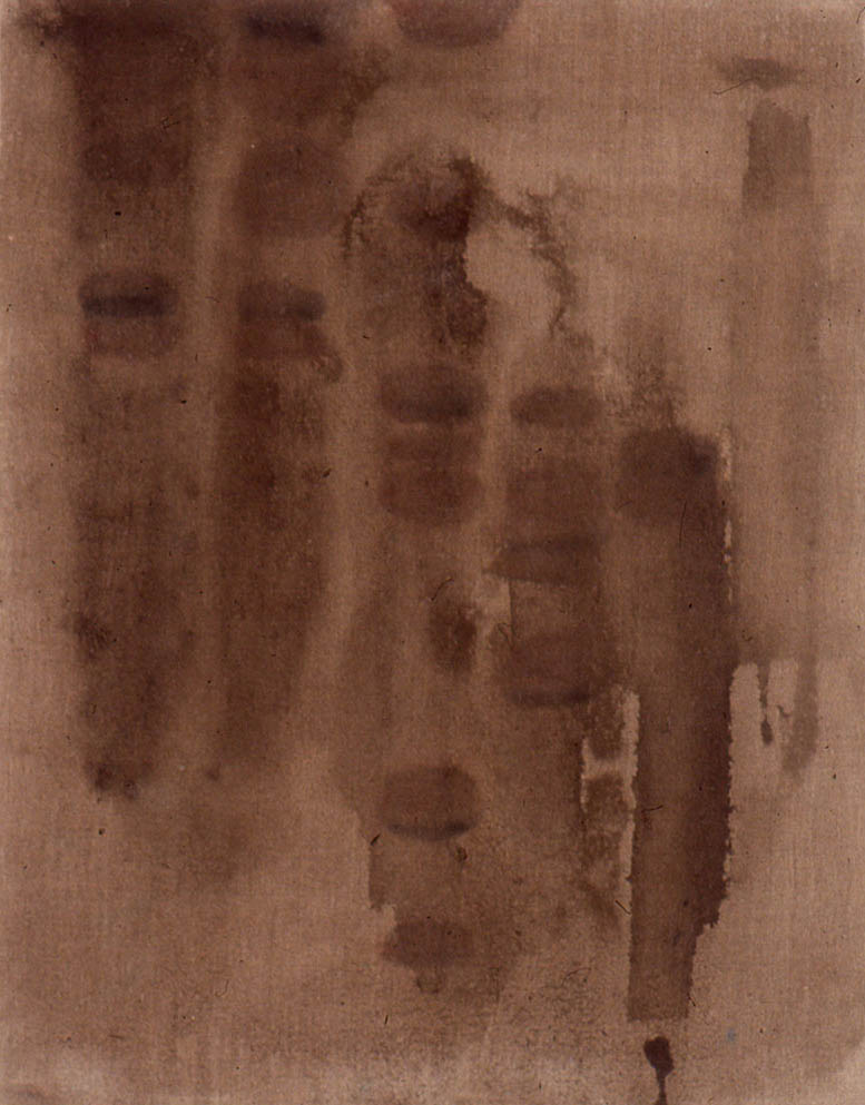 "Radioactive Mud, 18"" x 14"", 1996"