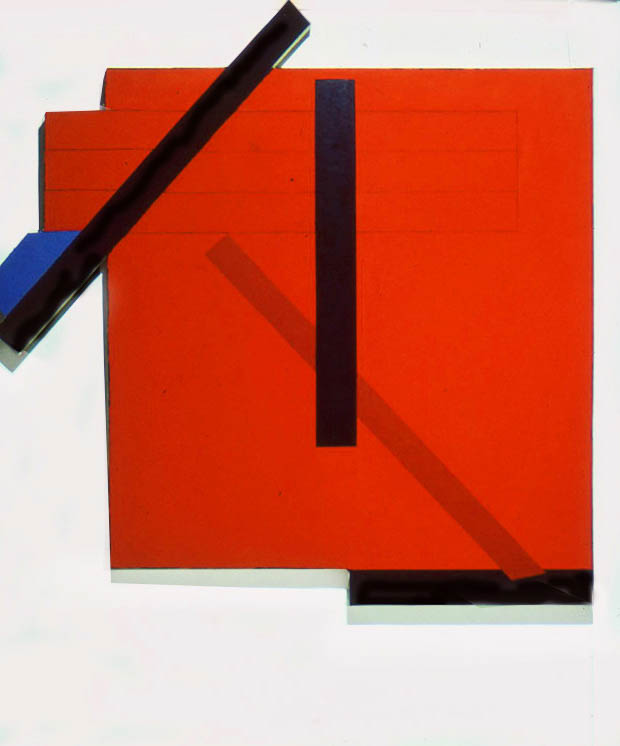 "Untitled, 72"" x 72"", 1975"