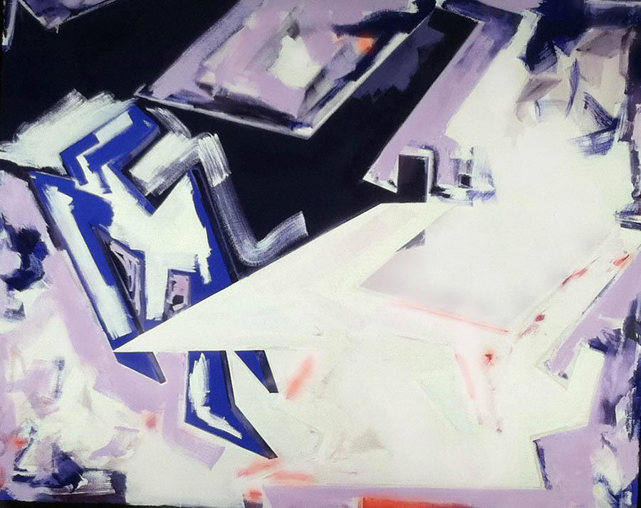 "Untitled, 96"" x 120"", 1981"