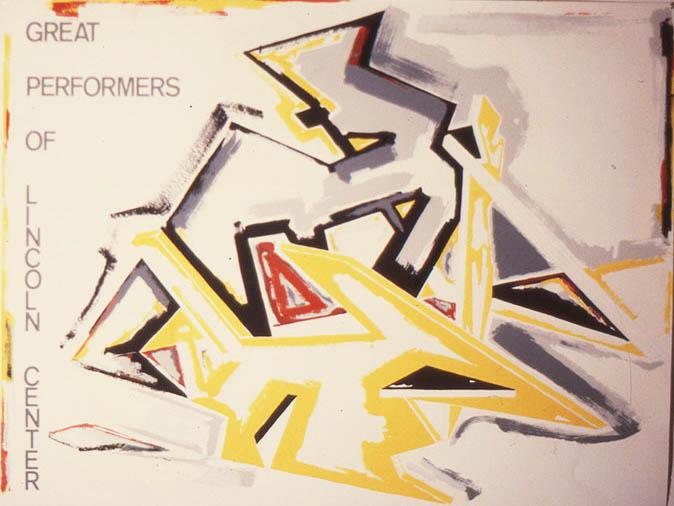 "Untitled, 33"" x 46"", 1981"