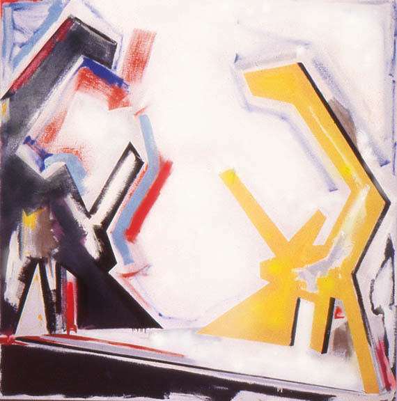 "Odd or Even Its Turmoil, 72"" x 72"", 1978-9"