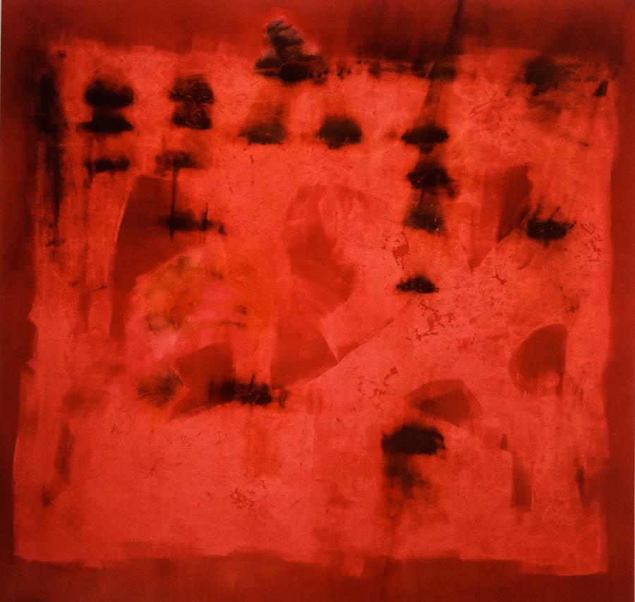 """Montecito-micropore, 114"""" x 120"""", 1995"""
