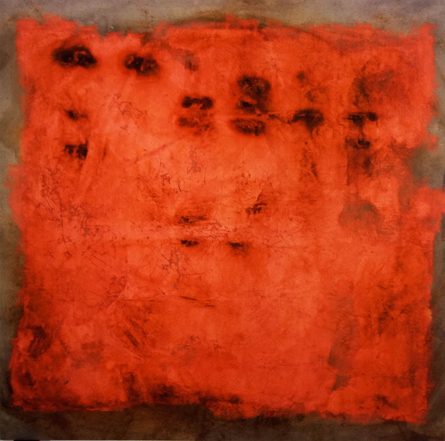 "Rincon-Red, 112"" 113"", 1995"