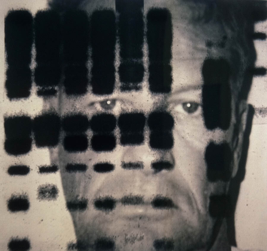 "Me My DNA and I, 114"" x 120"", 1997-8"
