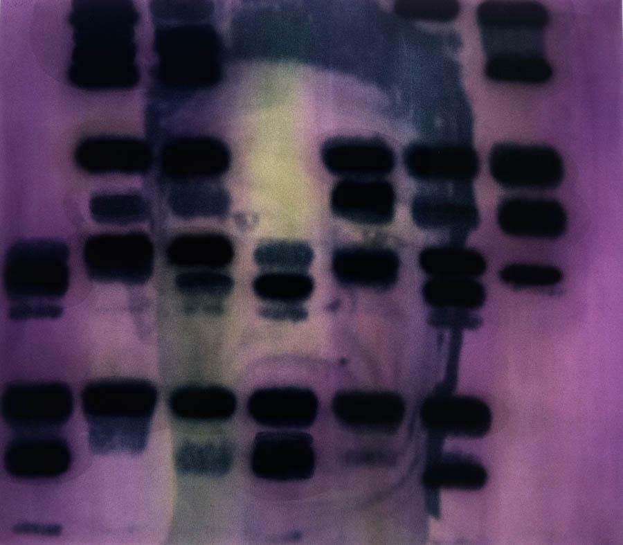 """D.J.A-DNA, 48"""" x 60"""", 1997-8"""