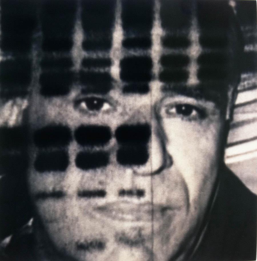 """H.K. DNA, 60"""" x 48"""", 1997-8"""