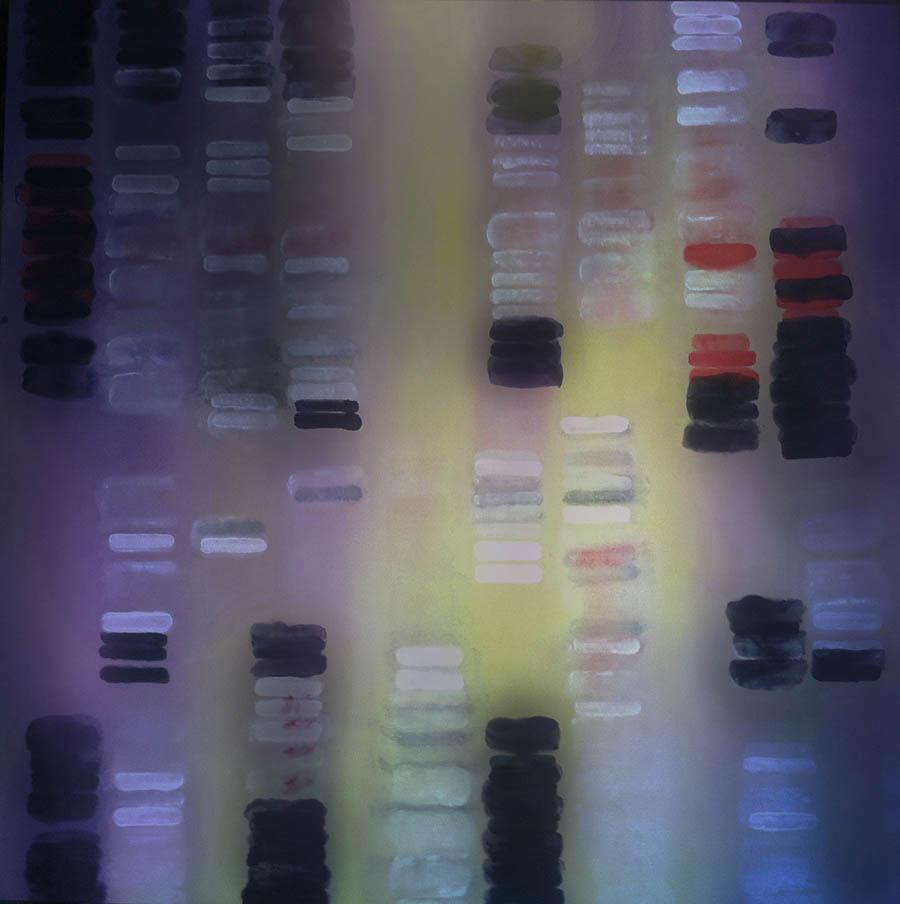 """Lemon-Grapes, 112"""" x 120"""", 1993-4"""