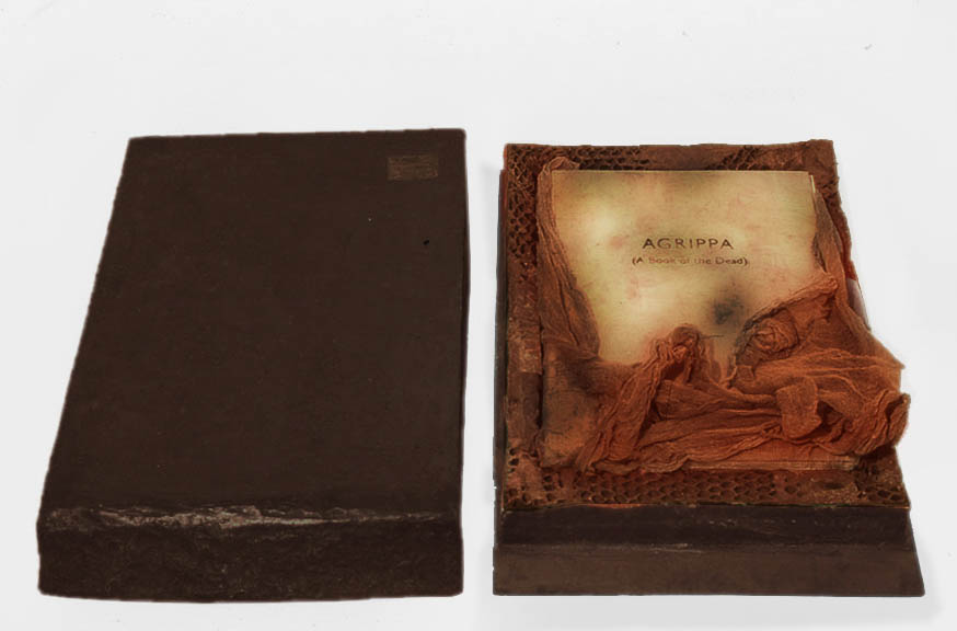 "Agrippa (A Book of the Dead), 15""x23""x3"", 1991-2"
