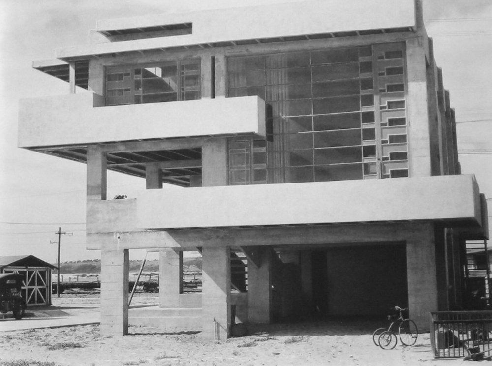 The Schindler House ,Newport Beach  CA.1926