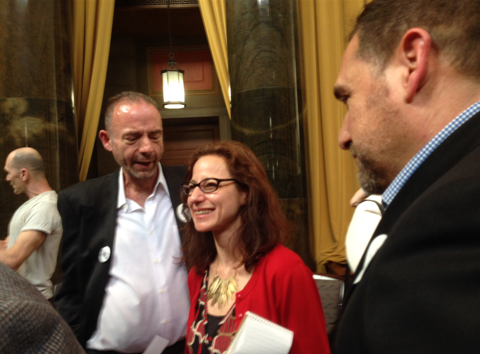 "Timothy Ray Brown, The ""Berlin Patient"" (on left)"