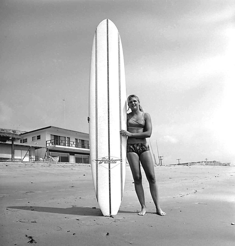 "Joyce ""Boo"" Hoffman, at Poche, 1964"