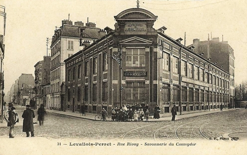 Cosmydor Historic Factory in Levallois-Perret - Heritage Skincare Since 1877 -Quality Organic Aromatherapy Botanical Cosmetics