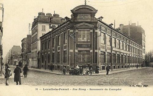 Cosmydor Historic Factory in Levallois-Perret -Cosmydor Heritage Skincare Since 1877