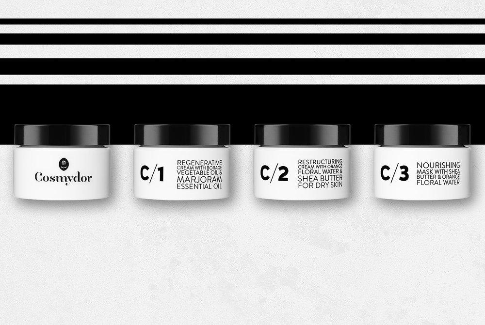 Cosmydor Intense Skincare Face Creams organic aromatherapy botanical sustainable quality cosmetics