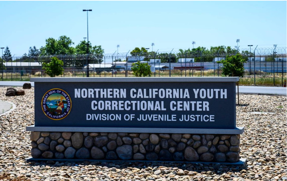 The Northern California Youth Correctional Center in Stockton is one of two youth facilities adjacent to the California Health Care Facility. A patient at the CHCF died from Legionnaires' disease in 2018, and the inmates at the facility and two nearby youth correctional centers remain on bottled water while the water system is treated. HECTOR AMEZCUAHAMEZCUA@SACBEE.COM