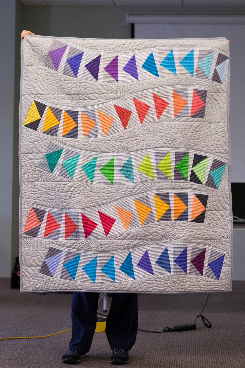 Sue A's Quilt & Tablerunner