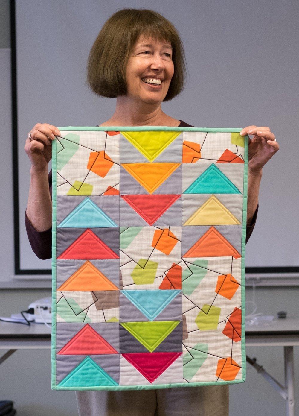 Denise's Mid-Century Modern Quilt