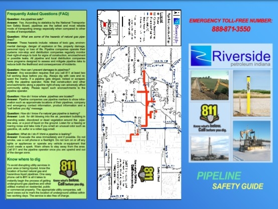 Indiana Operations - Pipeline Safety Guide for the General Public and Excavators