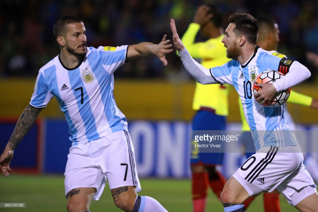 cuador v Argentina - FIFA 2018 World Cup Qualifiers : News Photo