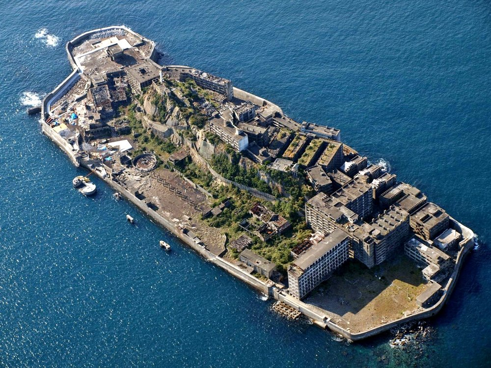 Hashima Island, Creative Commons