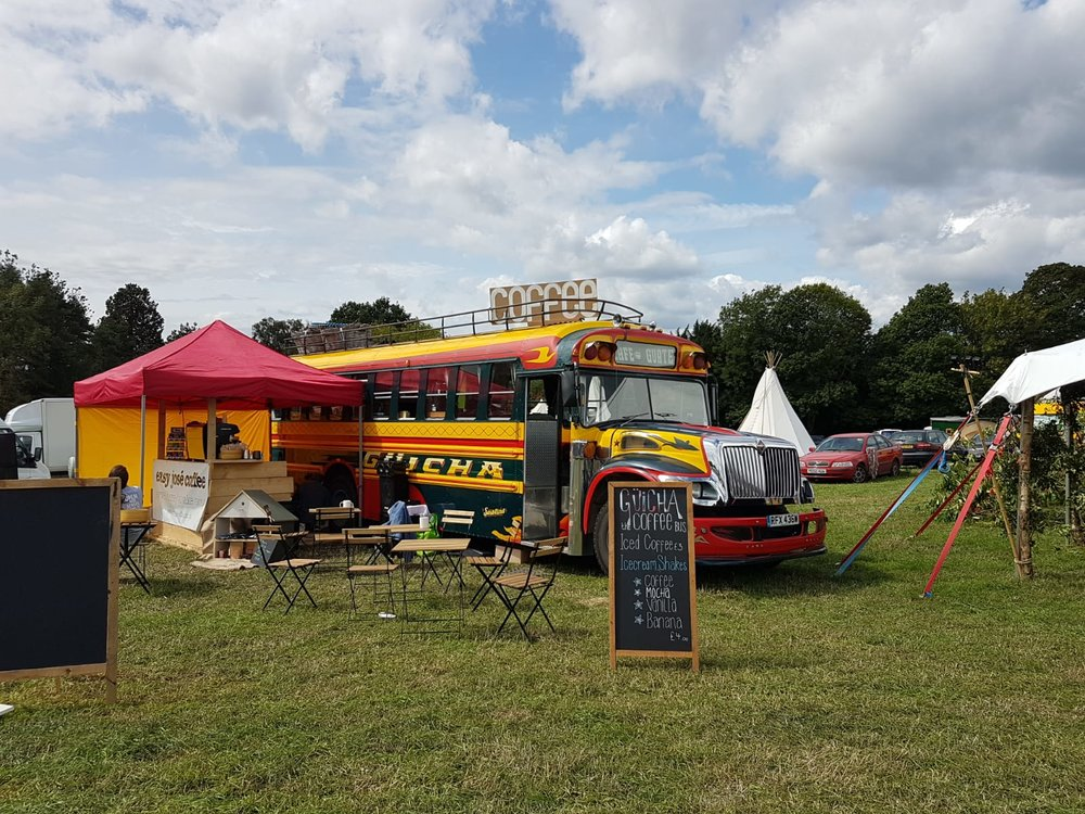 festivals - Backstage chill out or campsite cafe, the bus is always a good place to be.Where will we see you?