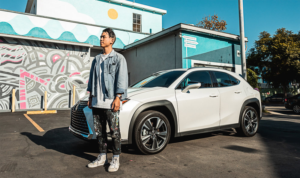 Artist Feature: Lexus x Beautify Earth Campaign