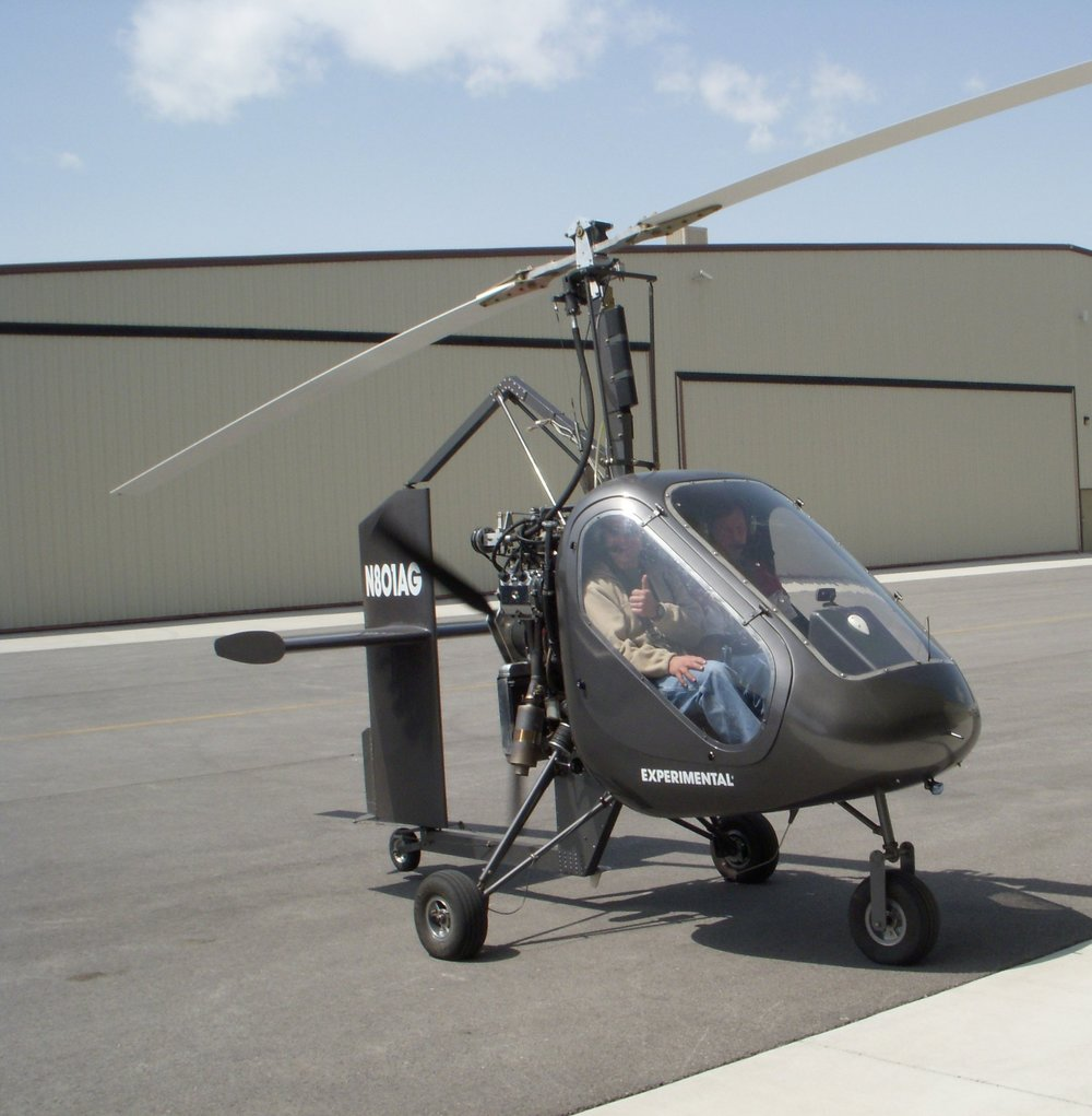 The SparrowHawk III Gyroplane -       The SparrowHawk III quick-build kit was developed by American Autogyro International, Inc. (