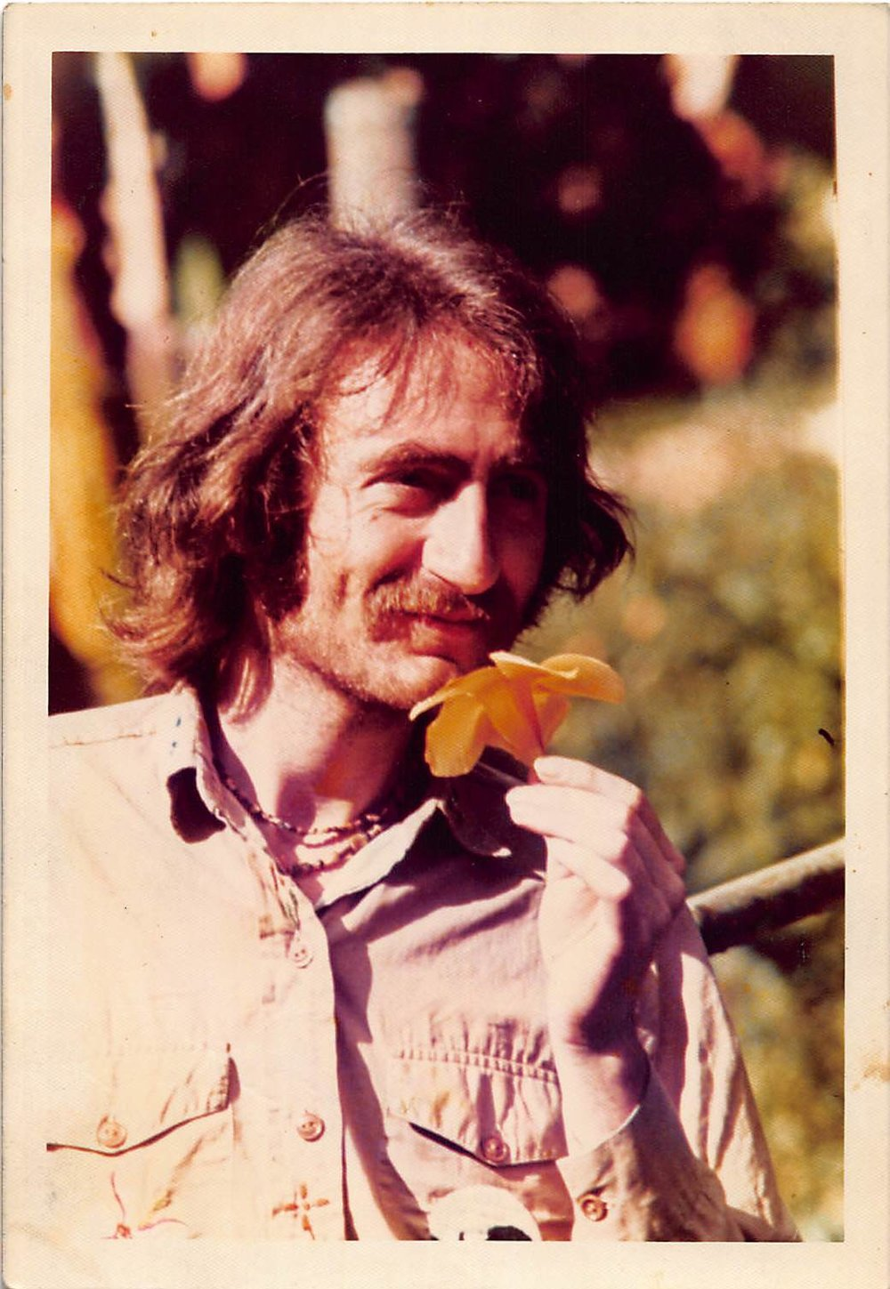 Ralph White in Columbia, 1974