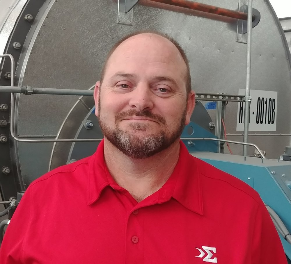 Frank LeBaron, Director, Quality Assurance Manager.  Frank is an AWS QC1 Certified Welding Inspector with over 18 years of experience in the welding and fabrication of pressure vessels, boilers and piping assemblies. Frank joined Sigma Manufacturing, LLC in 2011