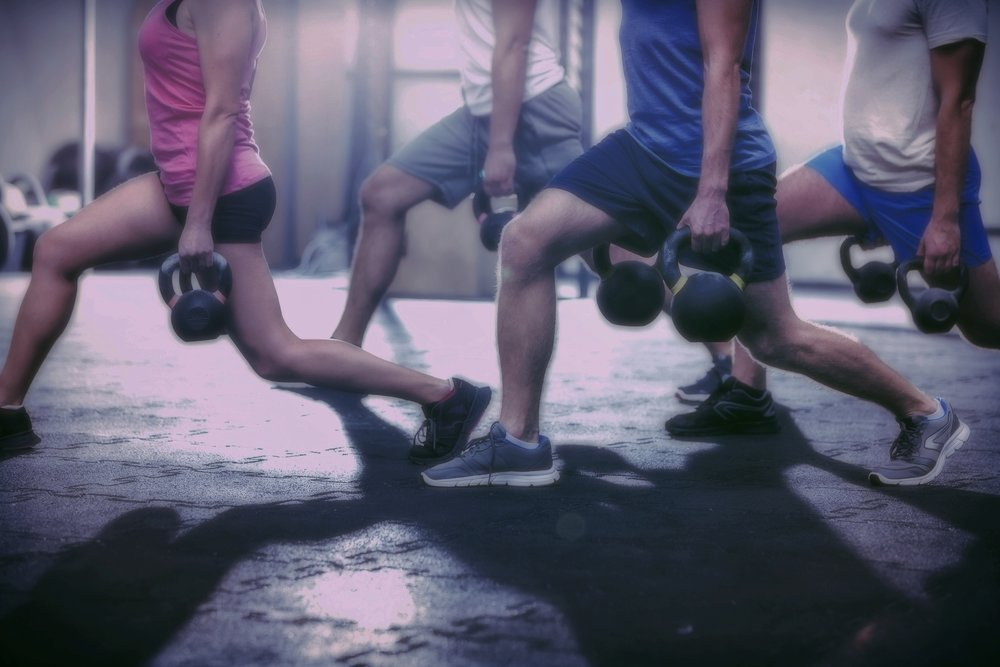 small group Fitness training -