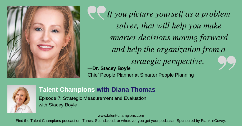 Talent Champions Stacey Boyle quote episode 7