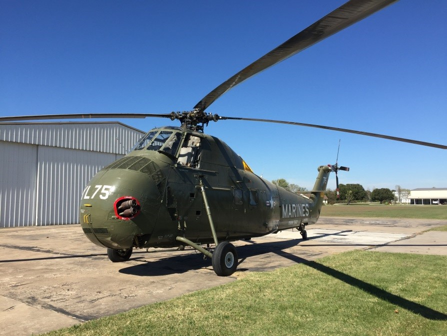 H34 Helicopter