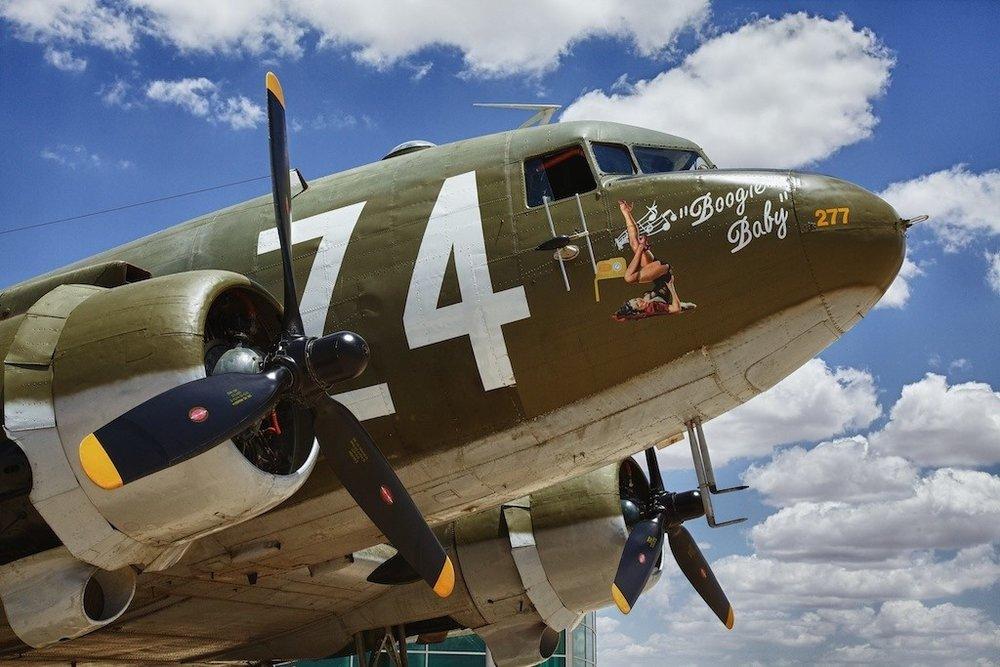 """C-47 """"Boogie Baby"""""""