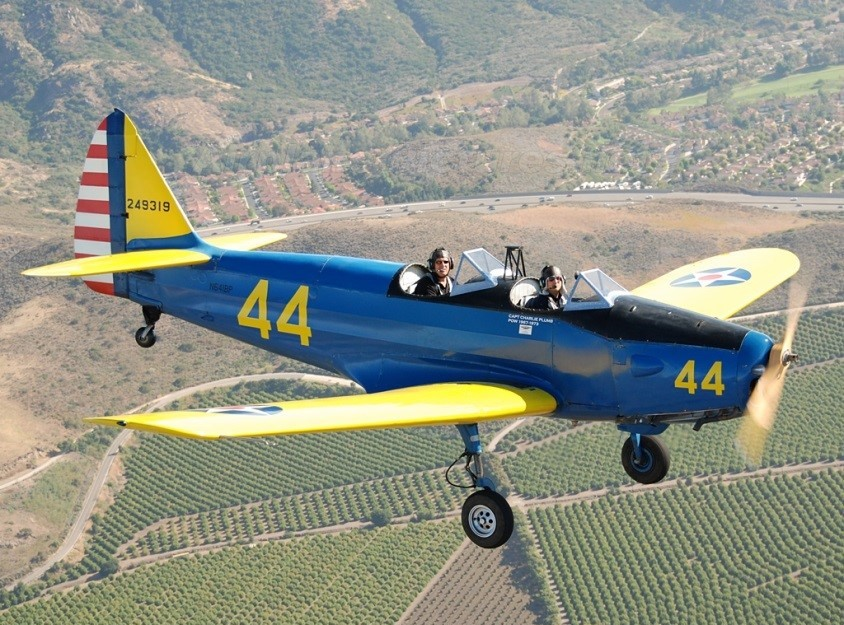 Fairchild PT-19 - Rides - $140 (approx. 25 minutes)Primary trainer for the US Army Air Corps in the early 1940sType of trainer used extensively at Cimarron and El Reno fields